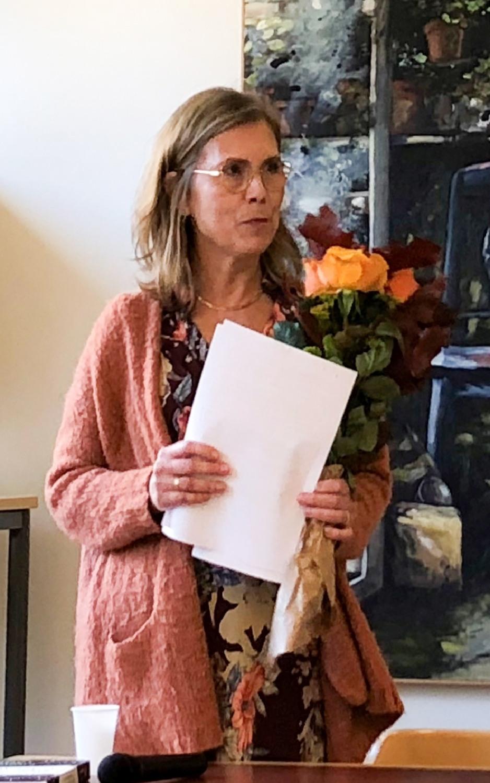 Maria Ripenberg invigningstalare, föreläser om kvinnans situation över tid